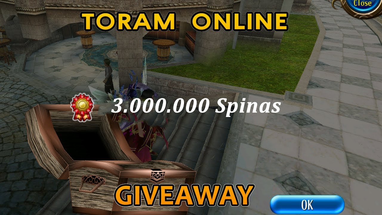 Toram Online 3M SPINA GIVEAWAY 2017 HD | Disax Leroy
