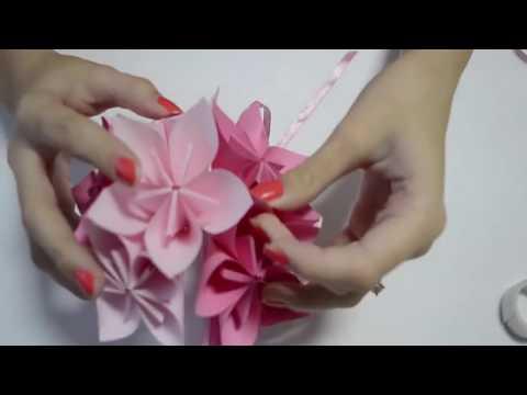 How to make origami flower ball wedding party decorations kusudama how to make origami flower ball wedding party decorations kusudama diy crafts tutorials mightylinksfo