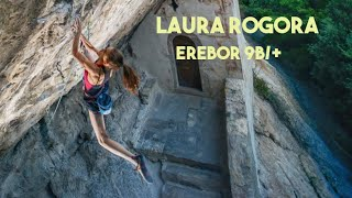 Laura Rogora on Erebor (9b/+)