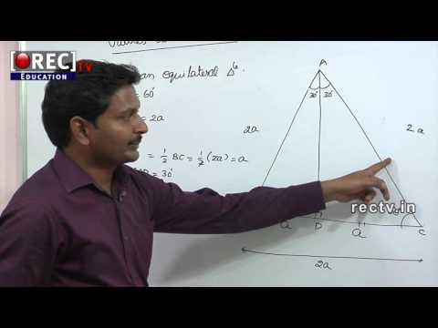 BASICS OF TRIGONOMETRY - PART 2 - 10 TH  MATHS TUTORIAL - SSC/ICSE/CBSE CLASSES -  FORMULAS