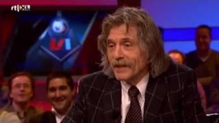 Reactie Johan Derksen op nominatie Loden Leeuw (VI 19 december 2011)