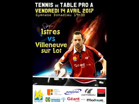 Table Tennis French League Pro A - BROSSIER (Short Pips on Backhand) Vs OUAICHE (2017)