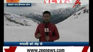 Zee News @ Rohtang Pass
