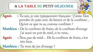 Dialogue facile en français 12