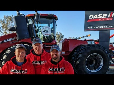 World Ag Expo LIVE! CASE IH Lot & YouTubers!