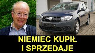 Miesięczna Dacia Sandero: Niemiec kupił i sprzedaje