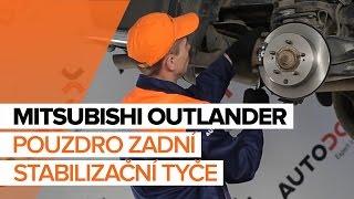Jak vyměnit pouzdro zadní stabilizační tyče na MITSUBISHI OUTLANDER NÁVOD   AUTODOC