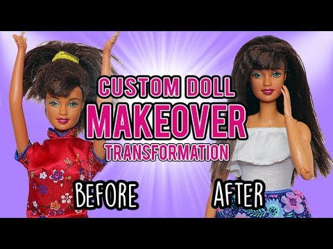 Barbie Custom Doll Makeover Transformation (#8: Chewed Up Hands)