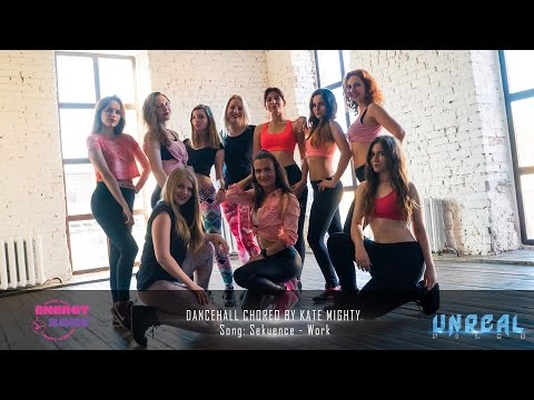 Dancehall Choreo by Kate Mighty | Intensive group | Song: Sekuence - Work
