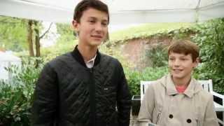Prins Nikolai fortæller om kostskolen