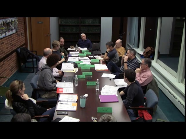 Easthampton Charter Review Committee 1/10/2019