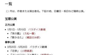 「1917年の宝塚歌劇公演一覧」とは ウィキ動画