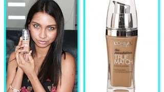 Loreal true match foundation review Thumbnail
