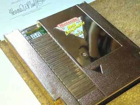 Fake 1990 Nwc Nintendo World Championships Carts Youtube