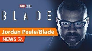Jordan Peele Talks directing Blade for Marvel Studios
