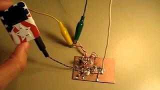 Single Transistor FM Transmitter