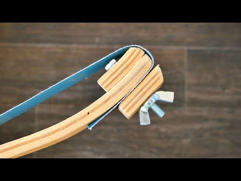 Make Yourself These Tools with Sandpaper for Woodworking