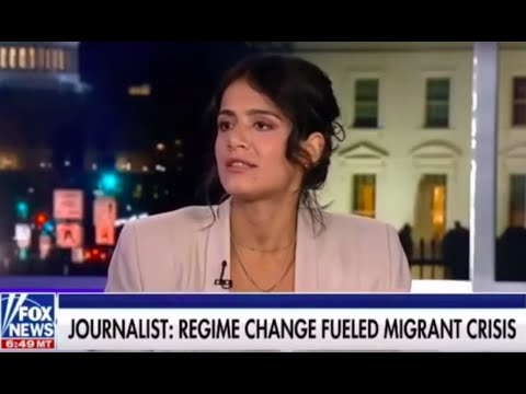 The Grayzone's Anya Parampil on Fox: US regime change policy fuels migration crisis