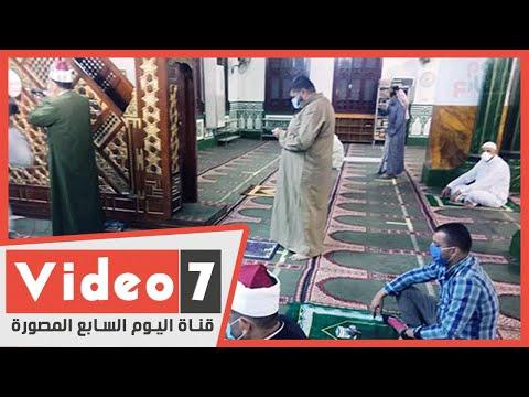 اللهم بشرنا برفع الوباء.. المساجد تستقبل المصلين بعد غياب 100 يوم  - 04:57-2020 / 6 / 27