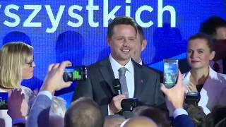 Przemówienie Grzegorza Schetyny i Rafała Trzaskowskiego #Wybory2018 | OnetNews