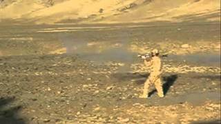 SLOW MOTION RPG FIRING IN AFGHANISTAN