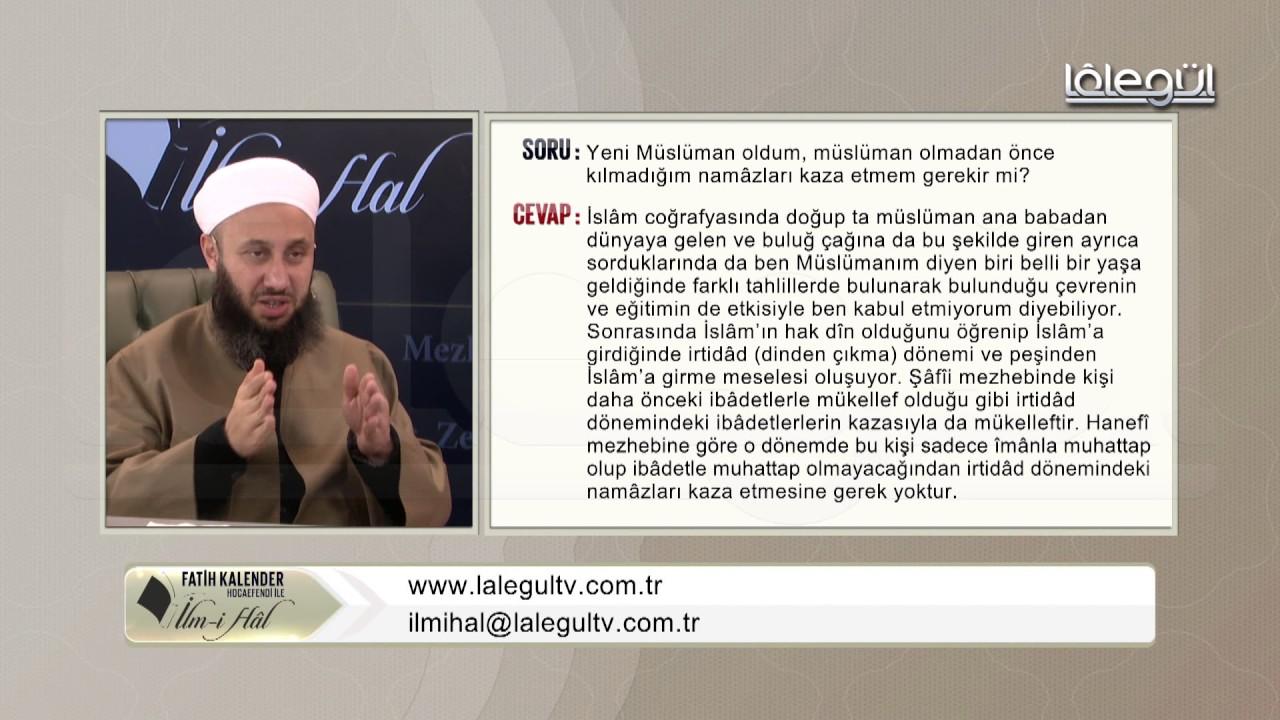 57-Yeni müslümân oldum, müslümân olmadan önce kılmadığım namâzları kazâ etmem gerekir mi?