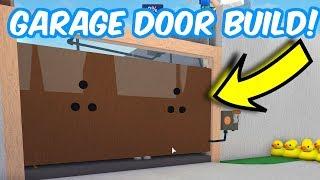 Garage Door Build! Roblox Lumber Tycoon 2