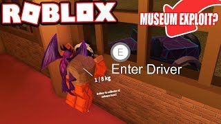 GLITCHING THROUGH THE MUSEUM ROBBERY???   Jailbreak Mythbusters (Roblox Jailbreak)