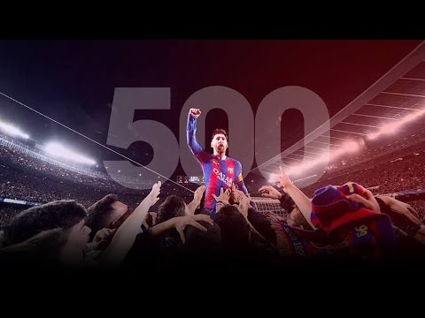 Lionel Messi - All 500 Goals for Barcelona (2004-2017) ||HD||