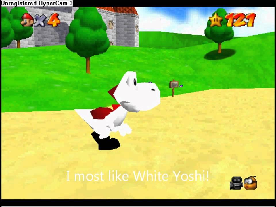 <b>Super Mario 64 Cheat Code</b>-Play as Yoshi - YouTube