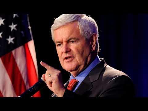 Newt Gingrich Discusses N. Korea, Mueller Investigation