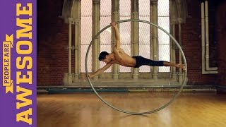 People are Awesome: Billy George (Cyr Wheel)
