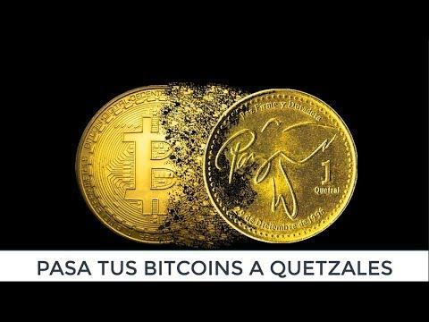 De Bitcoins A Quetzales Con Cex.io