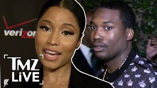 Nicki Minaj Unbothered By Meek Mill Drama | TMZ Live