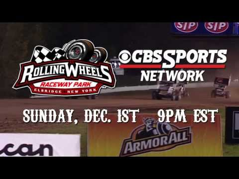 World of Outlaws STP Sprint Cars @ Rolling Wheels Raceway: Sunday, Dec. 1st on CBS Sports Network