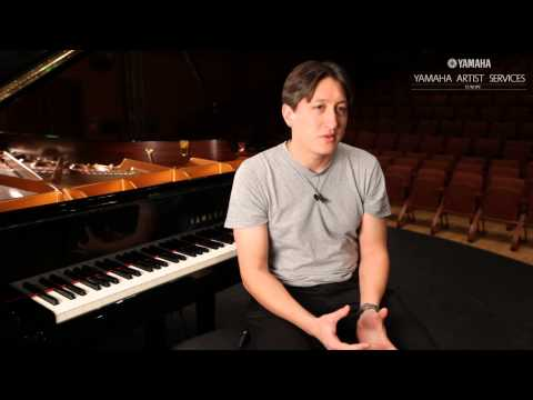 Yamaha Pianos in conversation with Freddy Kempf