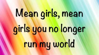Repeat youtube video Rachel Crow - Mean Girls - Lyrics!! (HD)