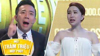 Trấn Thành Bảo Thy khẩu chiến trên gameshow 100 triệu 1 phút | iONE TV