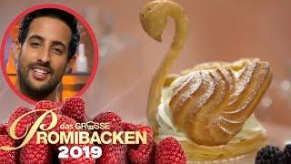 XXL-Windbeutel: Samis beschwippster Schwan 2/2 | Aufgabe | Das große Promibacken 2019 | SAT.1 TV