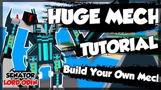 ROBLOX Build Your Own Mech : How To Make a Huge Mech