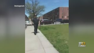 Baltimore Police Investigating Video Of Sergeant Allegedly Coughing Near Residents