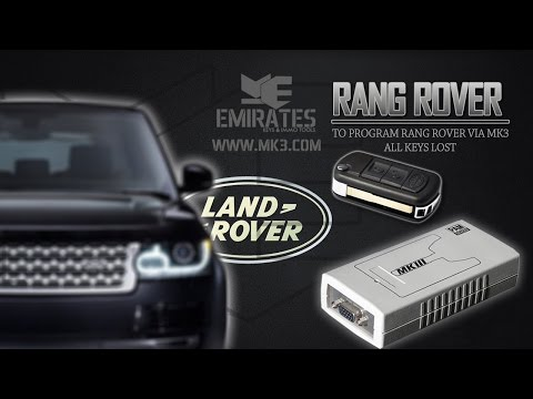 HOW TO PROGRAM KEY RANG ROVER SPORT- LAND ROVE DISCOVERY3 ALL KEYS LOST
