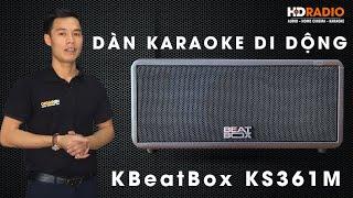 Loa Acnos BeatBox KS361M   Dàn Karaoke Di Động Nhỏ Gọn Bass Cực Chắc !