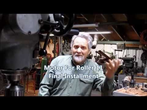 Motorizing a Harbor Freight Rolling Mill 11 final segment