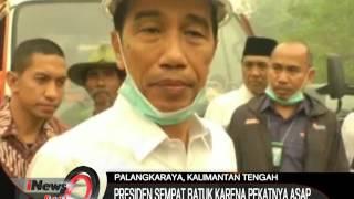 Presiden Jokowi Kembali Kunjungi Kebakaran Hutan Di Palangkaraya, Kalteng - iNews Pagi 25/09