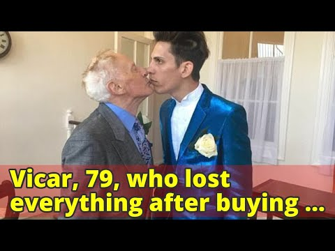 Vicar, 79, who lost everything after buying a £100,000 flat for his Romanian boyfriend who left him