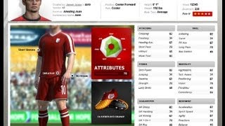FIFA Creation Centre Tutorial CREATE A PLAYER & How to download him in FIFA 14 HD