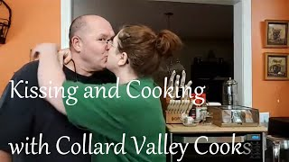 Kissing and Cooking with Collard Valley Cooks