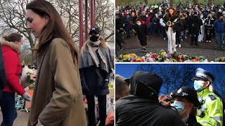 video: Sarah Everard vigil: Home Secretary demands 'full report' from Met Police after clashes on Clapham Common