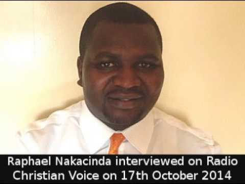 Raphael Nakacinda on Radio Christian Voice 17th October 2014